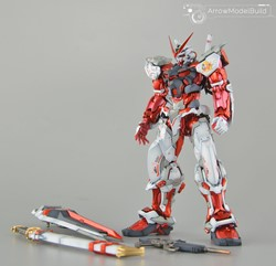Astray Red Frame (Metal) Built & Painted MG 1/100 Model Kitの画像