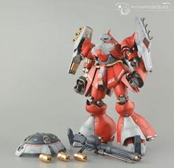Quess Air's Jagd Doga Built & Painted RE/100 1/100 Model Kitの画像
