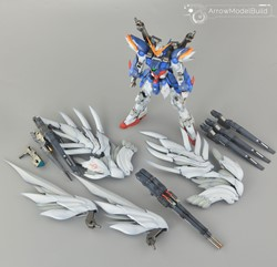 Wing Zero Gundam Custom EW with Drei Zwerg Built & Painted MG 1/100 Model Kitの画像