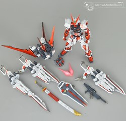 Astray Red Dragon (Metal) Built & Painted MG 1/100 Model Kitの画像