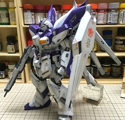 Hi-Nu Gundam Ver Ka Built & Painted MG 1/100 Model Kitの画像