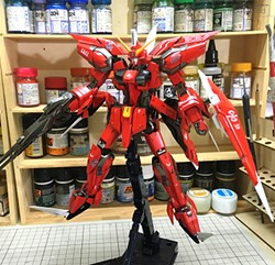 Aegis Gundam Built & Painted MG 1/100 Model Kitの画像