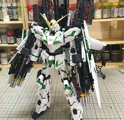 Full Armor Unicorn Gundam Ver Ka Built & Painted MG 1/100 Model Kitの画像