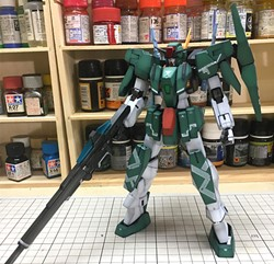 Cherudim Gundam Built & Painted 1/100 Model Kitの画像