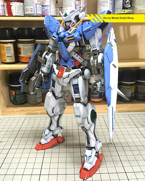 Image de Gundam Exia Built & Painted MG 1/100 Model Kit