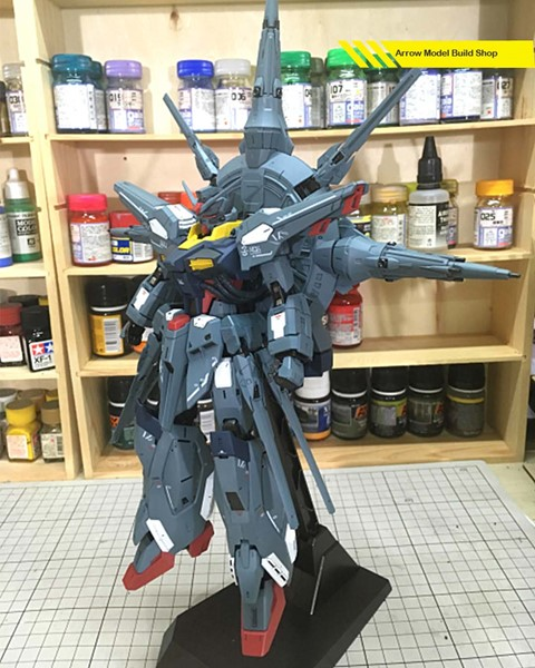 Image de Gundam Seed Providence Gundam Built & Painted 1/100 Model Kit
