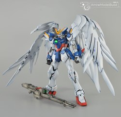 Wing Gundam Zero Built & Painted MG 1/100 Model Kitの画像