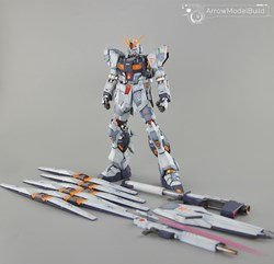 Nu Gundam Ver Ka Built & Painted MG 1/100 Model Kitの画像