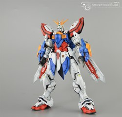 God Gundam Built & Painted HIRM 1/100 Model Kitの画像