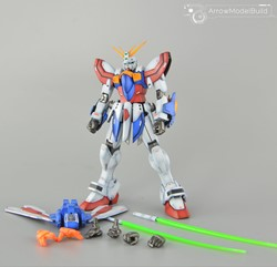 God Gundam Built & Painted MG 1/100 Model Kitの画像