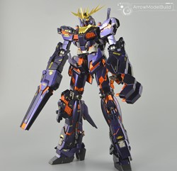 Gundam Banshee Built & Painted MG 1/100 Model Kitの画像