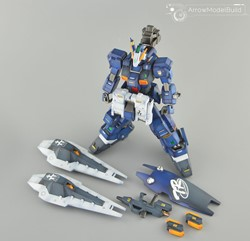 Gundam TR-1 Advanced Hazel Built & Painted MG 1/100 Model Kitの画像