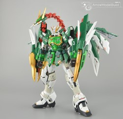 Nataku Altron Gundam EW with booster Resin Kit Built & Painted 1/100 Model Kitの画像