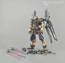 Gundam Astray Noir (Custom Gold)  Built & Painted MG 1/100 Model Kitの画像