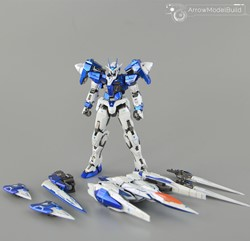 Gundam 00 Raiser Customize (Blue) Built & Painted MG 1/100 Model Kitの画像