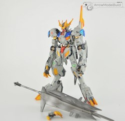 Barbatos Lupus Rex (Weathering) Built & Painted 1/100 Model Kitの画像