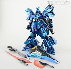 Sazabi Ver.ka (Custom Blue) Built & Painted MG 1/100 Model Kitの画像