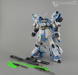 Sazabi Ver.ka (Custom White) Built & Painted MG 1/100 Model Kitの画像