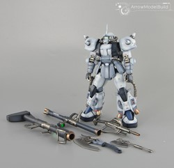 Shin Matsunaga Zaku Ver 2.0 Built & Painted MG 1/100 Model Kitの画像