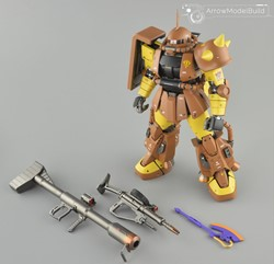 Masaya Nakagawa's Zaku Built & Painted 1/100 Model Kitの画像